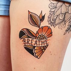Traditional Tattoos 83718 Heart Tattoo Inspiration You'll Fall In Love With! Traditional Heart Tattoos, Traditional Tattoo Filler, Traditional Tattoo Woman, Traditional Tattoo Mountain, Traditional Tattoo Forearm, Traditional Tattoo Flowers, Neo Traditional, Mom Tattoos, Future Tattoos
