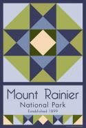Mount Rainier National Park Quilt Block