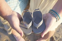 Pregnancy announcement, Beach, Sandals, Reveal, San Diego, Sand, Ocean, Baby