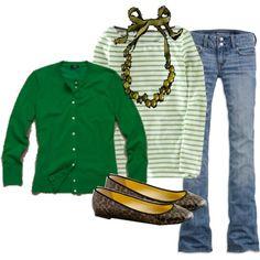 How I love green!