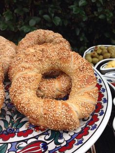 Turkish Recipes, Ciabatta, Bagel, Bread Recipes, Caramel, Food And Drink, Sweets, Snacks, Baking