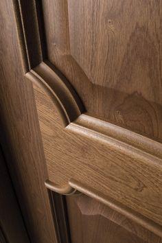 Detalle / Puerta 217X / Colección Clásica / Puertas de madera / Puertas Sanrafael Modern Wooden Doors, Wooden Front Doors, Wood Doors, Wood Door Frame, Bedroom Door Design, Door Design Interior, Door Frame Molding, Timber Mouldings, Wooden Main Door Design