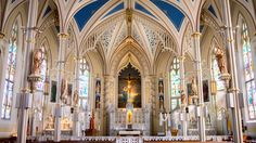 architecture building religion church cathedral chapel place of worship aisle altar monastery synagogue basilica