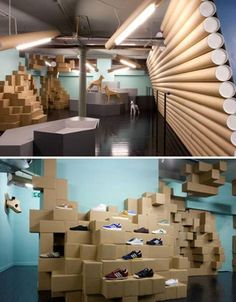 Smithfield Recycled Cardboard Interior, UK-Recycled mailing tubes and shipping boxes