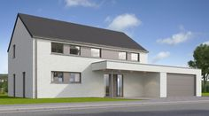 House Designs Ireland, Construction, Countryside, Building A House, Porch, Villa, Mansions, House Styles, Home Decor