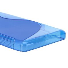 S-Line Transparent (Blå) Motorola DROID RAZR MAXX HD Deksel