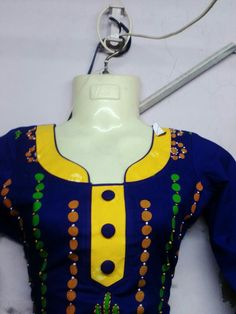 Different Types of Neck Patterns to Try in your Kurtis - Art & Craft Ideas Salwar Neck Patterns, Salwar Suit Neck Designs, Saree Blouse Neck Designs, Salwar Designs, Blouse Designs, Chudi Neck Designs, Neck Designs For Suits, Neckline Designs, Dress Neck Designs