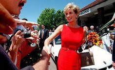 November 3, 1996  Diana visits the North Ryde Memorial Hospital in Sydney, Australia