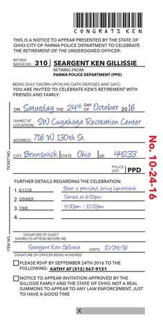 Thin blue line police academy graduation announcement or thin blue line police academy graduation announcement or invitation birthdays and party invitations stopboris Images