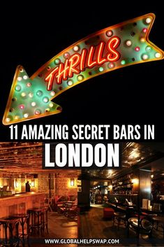 Secret London bars you need to discover! London is full of places to visit and things to do. No surprises then that London's cocktail bar scene is popping - skip the mediocre cocktails and head straight to the best secret bars in London. From Covent Garden to Soho and Shoreditch, these are London's coolest speakeasies where amazing design meets brilliant drinks. #london #cocktails #londonbars #travel London Bar Guide I Where to Drink in London I Cool Things to do in London Winter Travel, Summer Travel, Secret Bar, Honeymoon Tips, Places In England, Old Pub, New Architecture, Things To Do In London, Worldwide Travel