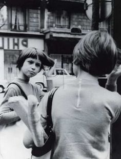 """Zazie dans le métro"", a Louis Malle movie. Catherine Demongeot  as Zazie, 1960."