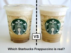 Make a Starbucks Frappuccino at home