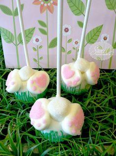 Bottoms Up Bunny Pops     Found on mysweetindulgence.com #cakepops
