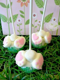 Bottoms Up Bunny Pops     Found on mysweetindulgence.com #cakepops