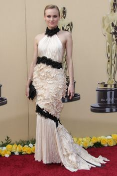 Vestido Diane Krüger Oscars 2010