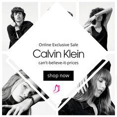 Calvin Klein is now on eboutic. Shop Now, Calvin Klein, Believe