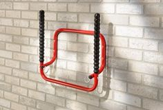 Buy the Fold-Up Bike and Helmet Rack from STORE Hooks today! A part of our Bike Racks range. Crochet Velo, Bike Shelter, Cycle Storage, Range Velo, Shed Organization, Tool Room, Bicycle Rack, Bike Shed, Obi