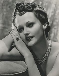 American actress Lynne Carver - publicity still taken by Clarence Bull