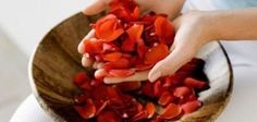 The art of making rose petal beads dates back to medieval times.