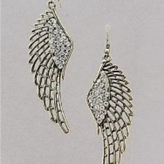 Antique Winged Earring