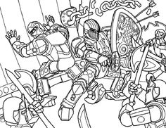 parkson 25th anniversary lego coloring pages | Lego Samurai Power Ranger Minifigure coloring page for ...