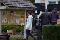 Once Upon a Time filming in Fort Langley. Ginnifer Goodwin