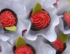 Copinho de chocolate com creme de gramboesa, da Cakes and Sweets
