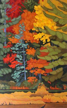 Kawartha Autumn Studio Tour on September 23rd & 24th  hosted by Leanne Baird