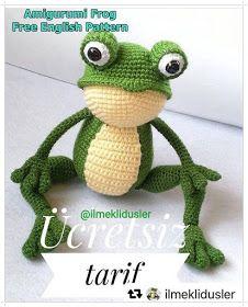 Handy Crafts Crocheted Frog ضفدع كروشية Sapo De Croche Boneca De Crochet Brinquedos De Croche