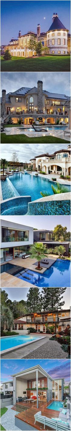 Stunning mansions dream houses