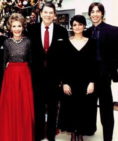 Ron Reagan Jr. Then    Father: President Ronald Reagan  Like his sister Patti, Ron often pitted himself against his father with extremely liberal views. He told Vanity Fair in 2009, however, that he was never on bad terms with his dad because of it. He told Larry King in 2004 he would never run for political office because he is an atheist and wouldn't be elected by the American populace, but just because he's not planning a campaign does not mean he hasn't been heavily involved.