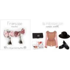 Francoise - earrings, created by alixia88.polyvore.com