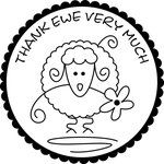 Thank Ewe very much embroidery