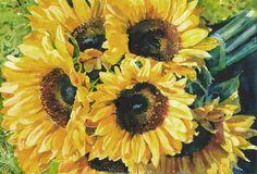 Sunflower Yellow by Matthew Jeanes