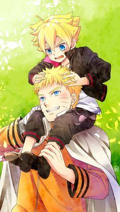 Naruto and Bolt