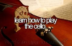 Or the violin