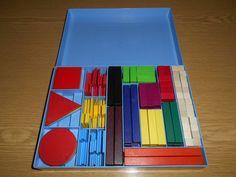 Klett 16615 Mathematik Grundschule Form Montessori Rechenkasten Rechenstäbchen | eBay