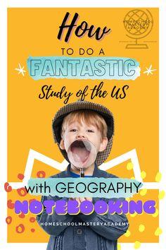 US Geography Notebooking #geographycurriculum #notebooking #homeschool #homeschoolideas Geography Lesson Plans, Geography Activities, Geography For Kids, Social Studies Activities, Kindergarten Homeschool Curriculum, Homeschool Curriculum Reviews, Homeschool Books, Homeschooling, Lessons Learned
