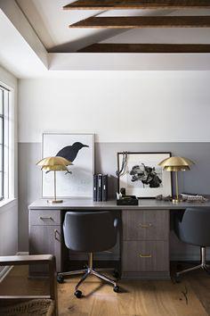 Work-Life Balance for Interior Designer Jeremiah Brent - California Closets Home Office Lighting, Home Office Space, Home Office Design, Office Designs, Office Spaces, Jeremiah Brent, Interior Design Career, California Closets, Workspace Design