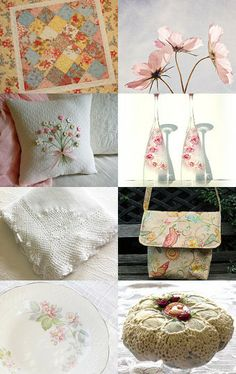 Romantic Spring Please Come My Way by Patricia Caldwell on Etsy--Pinned with TreasuryPin.com