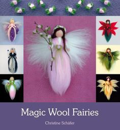 Waldorf Crafting Book Review and Magic Wool Fairy Tutorial