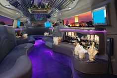 Limo services Tampa, FL has party buses and limousines for hire. Limo Service Tampa gets the best prices for rentals. Book a limousine rental Tampa FL here! Limousine Interior, Limousine Car, Bus Interior, Hummer Interior, Houston Limousine, Interior Photo, Prom Limo, Limo Party, Wedding Limo Service