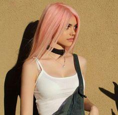 Kelsey Calemine's In Flight Beauty Must-Haves Pastel Hair, Pink Hair, Hair Inspo, Hair Inspiration, Kelsey Calemine, Dream Hair, Crazy Hair, Hair Looks, Pretty Hairstyles