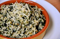 parmesan spinach rice