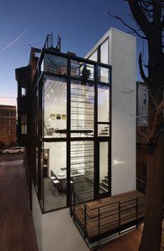 Nice Glass Home! Very Modern!