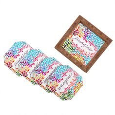 Garima Dhawan Imagine 1 Coaster Set | DENY Designs Home Accessories