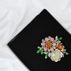 Chiffon Floret Scarf Hijab Dress Party, Hijab Outfit, Black Hijab, Black Luxury, Chiffon Scarf, Dry Hands, Muslim Fashion, Modest Outfits, Floral Tie