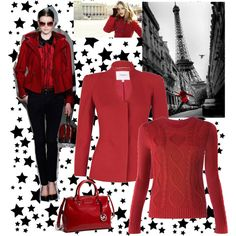 Ready for Red, created by milicad88.polyvore.com