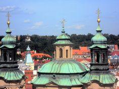 Igreja Tyn, na  Cidade Velha, em Praga