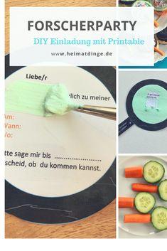 Forscherparty: Tolle DIY Ideen Für Einen Gelungenen Kindergeburtstag